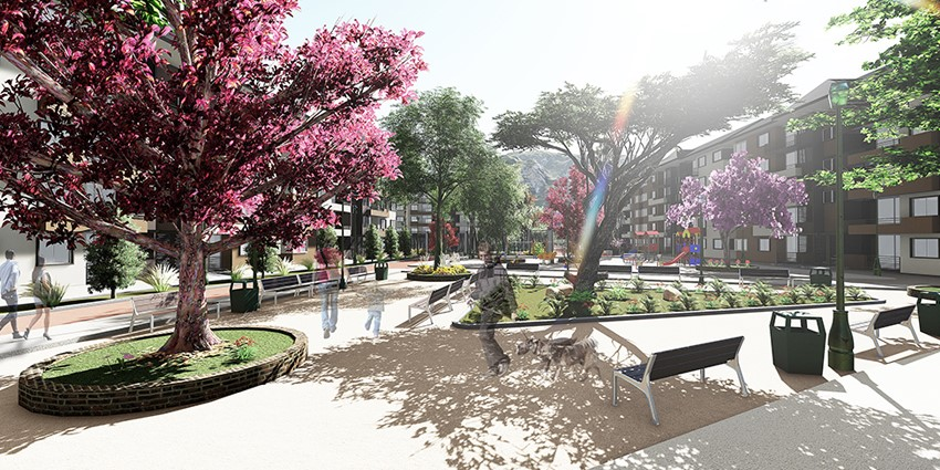 Proyecto Condominio Parque Encanto de Curauma de Inmobiliaria Puerta del Sol SPA-6