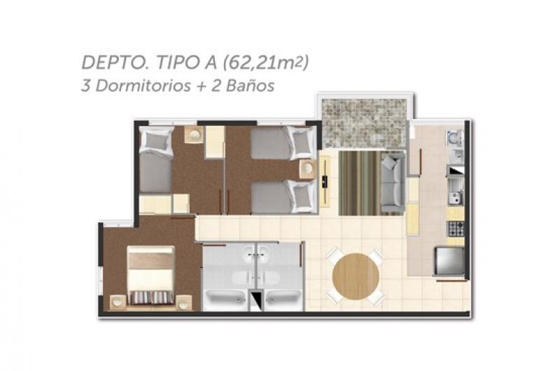 condominio-parque-encanto-de-curauma-tipo-a-/-3-dormitorios-+-2-baños