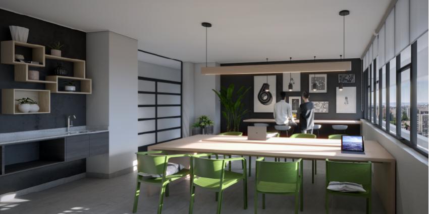 Proyecto Edificio New Center de Inmobiliaria CISS-10