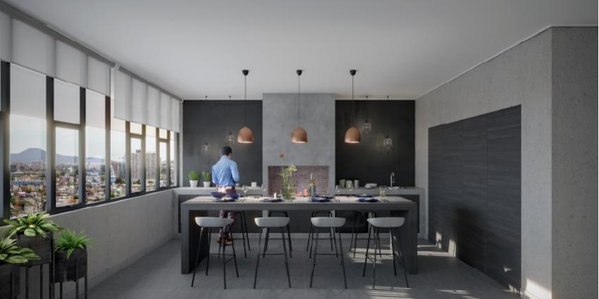 Proyecto Edificio New Center de Inmobiliaria CISS-11