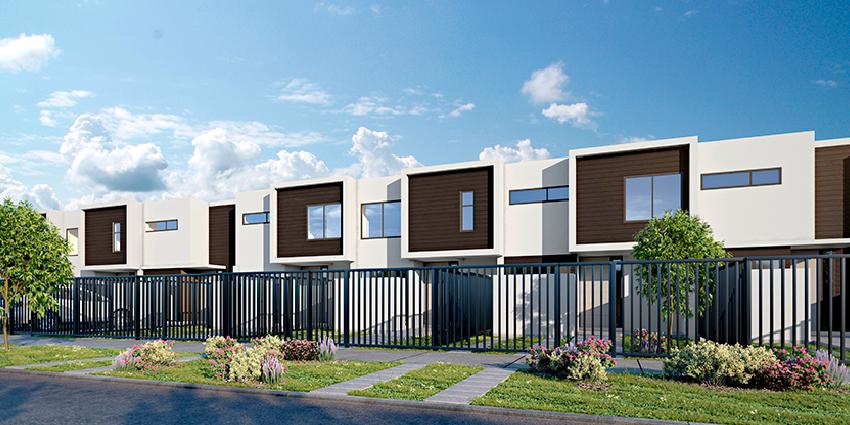 Proyecto Urbano Townhouse de Inmobiliaria MNK-5