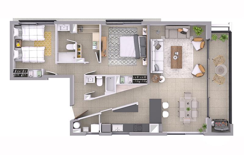 edificio-le-brabant-flat