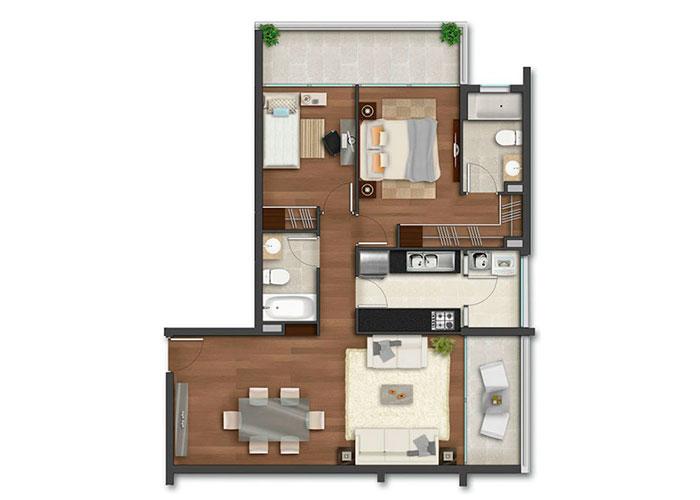 torre-capital-home,-spa-and-business---departamentos-planta-home-2-norte