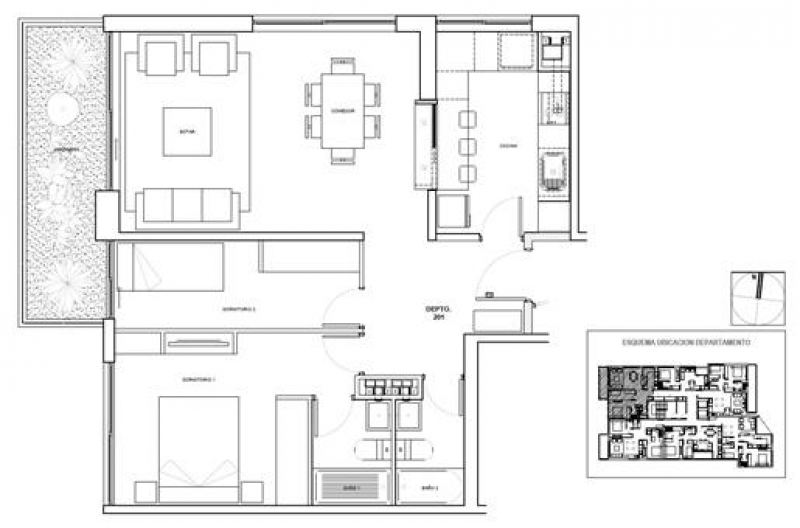 isa-mayecura-planta-tipo-2-dormitorios-2-baÑos