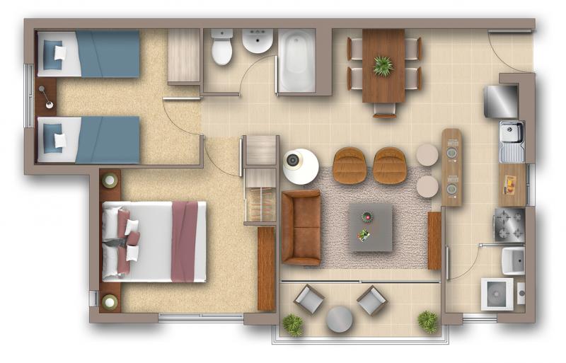 condominio-lomas-de-rukan-2-dormitorios---1-baño