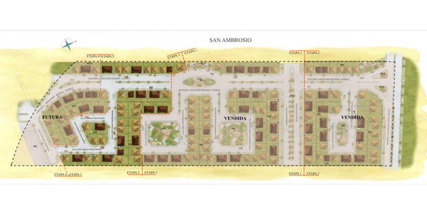 Proyecto San Ambrosio III de Inmobiliaria PY-4