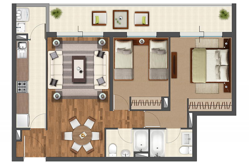 condominio-terrados-de-kennedy-tipo-b