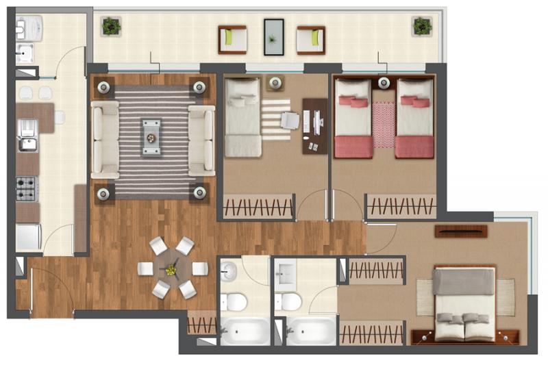 condominio-terrados-de-kennedy-tipo-a