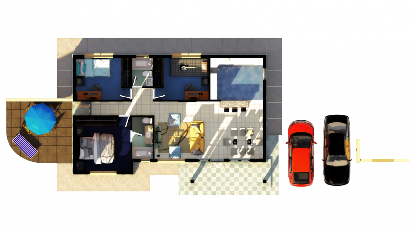 Proyecto Conjunto Residencial Termas de Monteblanco de Inmobiliaria JC Valdebenito Inmobiliaria-16