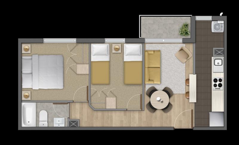 condominio-parque-al-volcán-modelo-2a