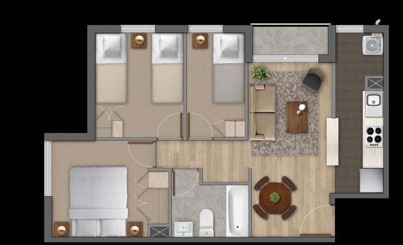 condominio-parque-al-volcán-modelo-3a