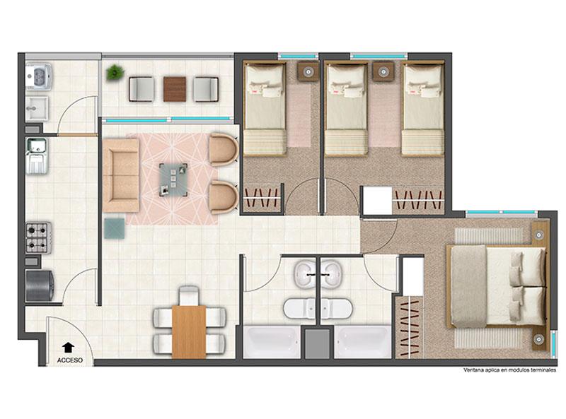 condominio-pinares-ds19-tipo-a