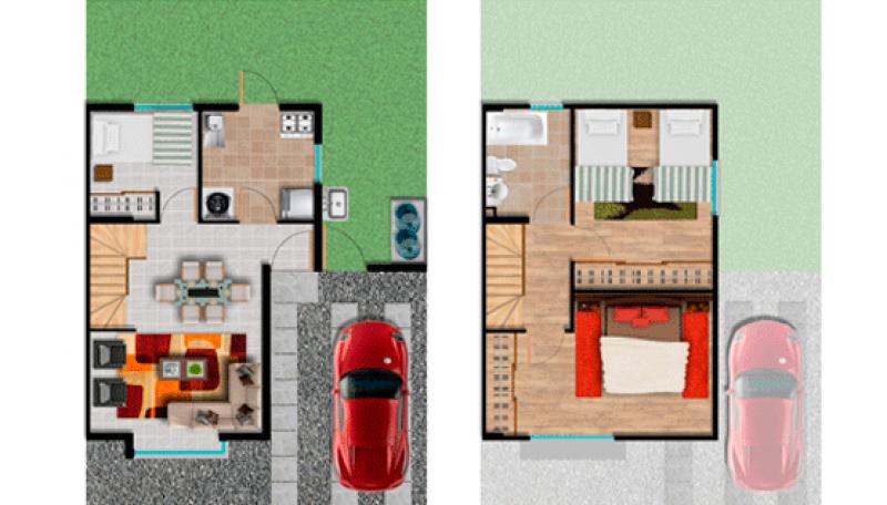 villa-el-estero---etapa-i:-casas-casa-aromo-61-m2