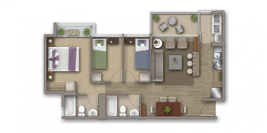 Proyecto Condominio Costa San Francisco de Inmobiliaria Invica-4