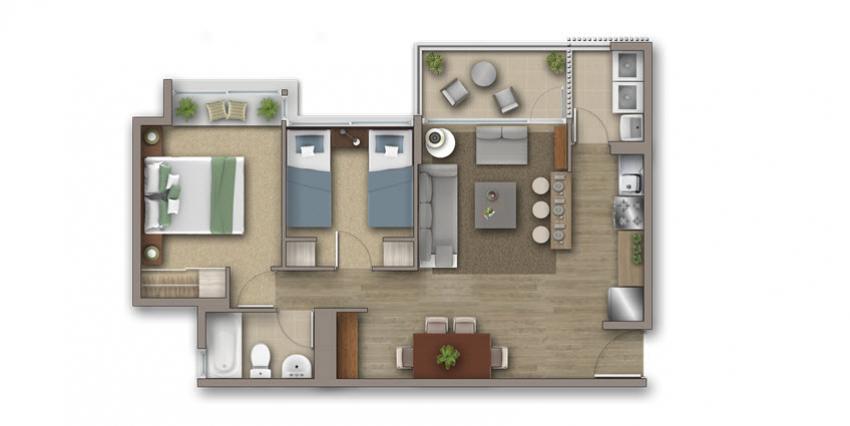 Proyecto Condominio Costa San Francisco de Inmobiliaria Invica-2