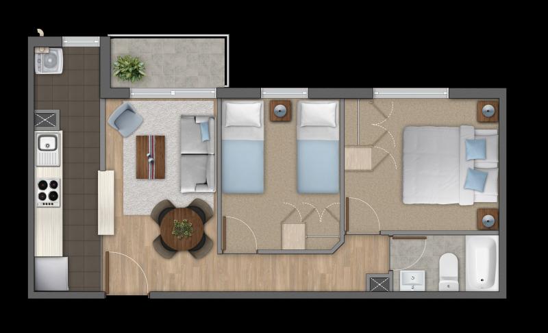 condominio-parque-al-volcán-modelo-2b