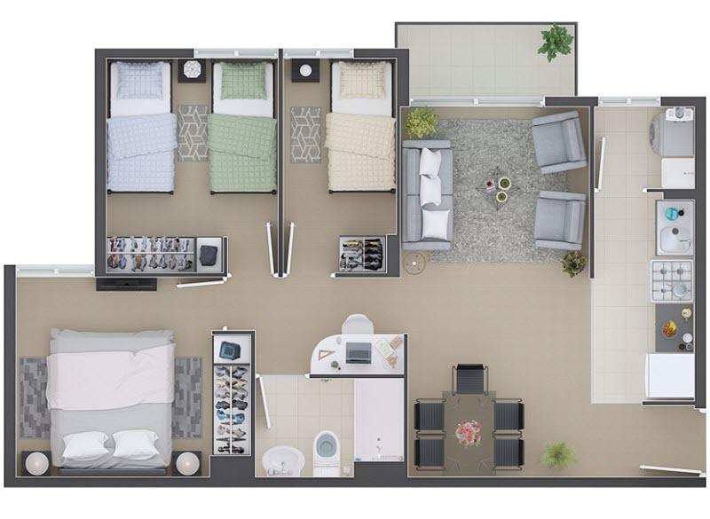 condominio-fuentes-de-rucalhue-modelo-b5