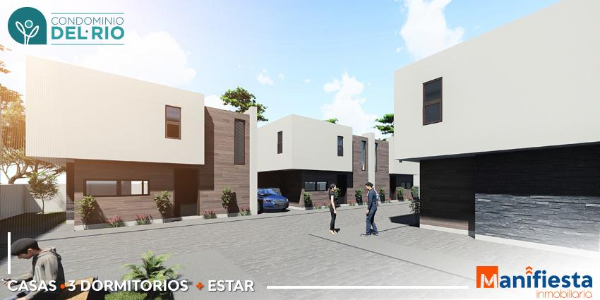 Proyecto Condominio del Rio de Inmobiliaria Manifiesta-2