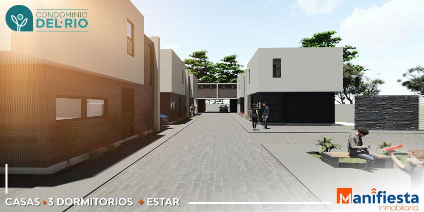 Proyecto Condominio del Rio de Inmobiliaria Manifiesta-3