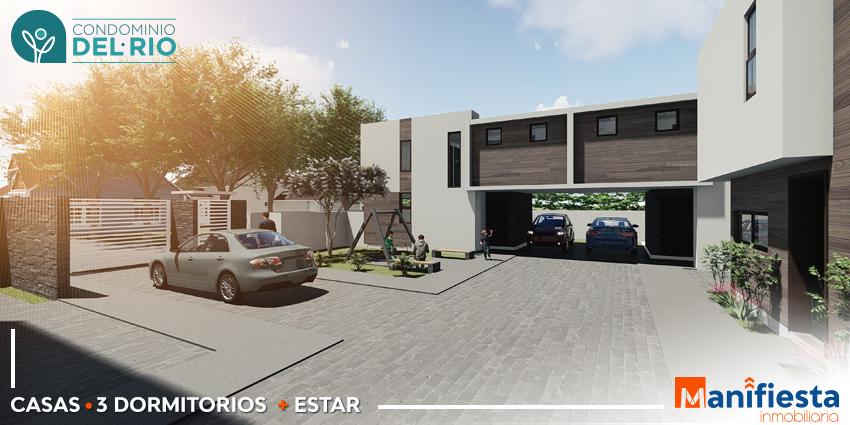 Proyecto Condominio del Rio de Inmobiliaria Manifiesta-8