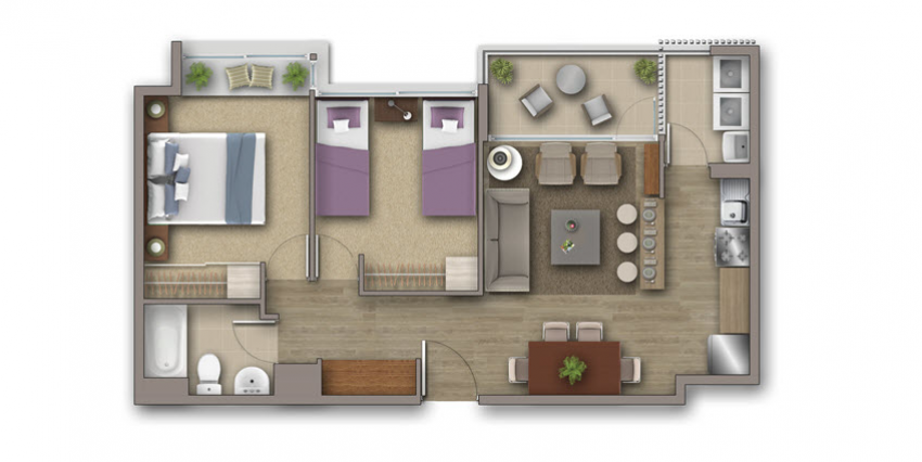 Proyecto Condominio Costa San Francisco de Inmobiliaria Invica-3