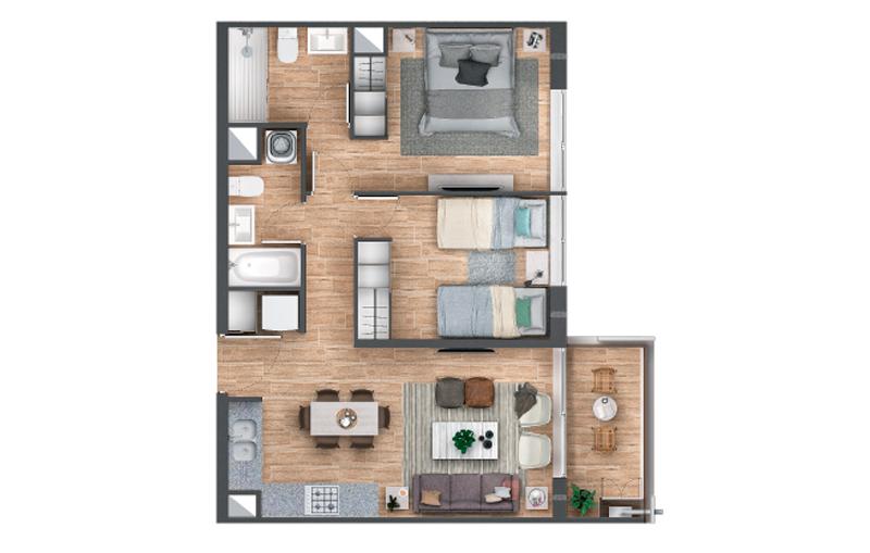 condominio-alcázar-tipo-c2