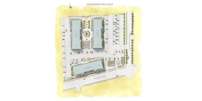 Proyecto Edificio Del Valle de Inmobiliaria PY-6