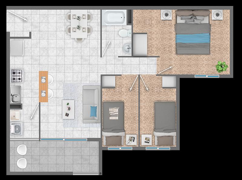 condominio-piedra-de-montaña-planta-3d+1d