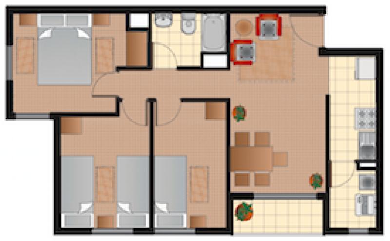 condominio-alto-durand-iii-tipo-3d+1b-54m2