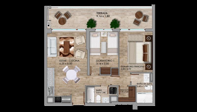 condominio-cataluña---departamentos-tipo-a