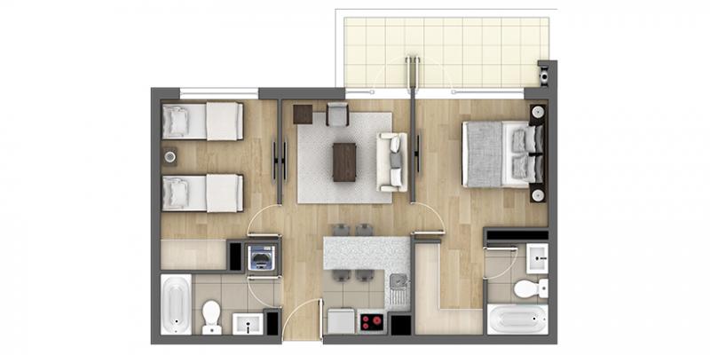 condominio-nueva-villarrica-tipo-d1
