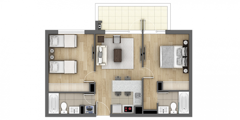 condominio-nueva-villarrica-tipo-d2