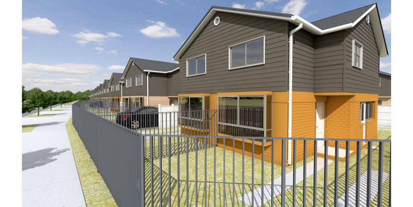 Proyecto Parque Poniente III de Inmobiliaria La Cruz Inmobiliaria-4
