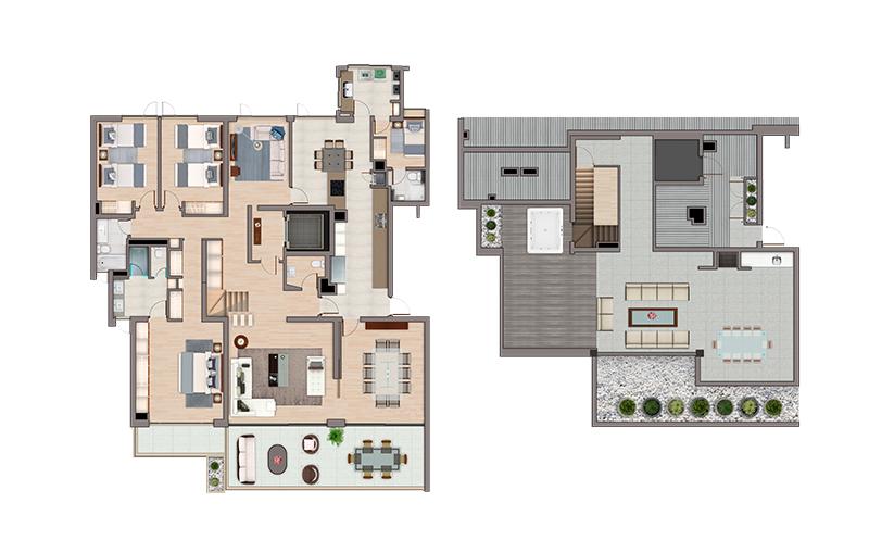 condominio-terralta-los-dominicos-las-condes---departamentos-f52-y-g52