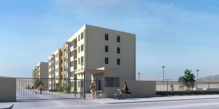 Proyecto Edificio Barrio Nuevo de Inmobiliaria PY-2