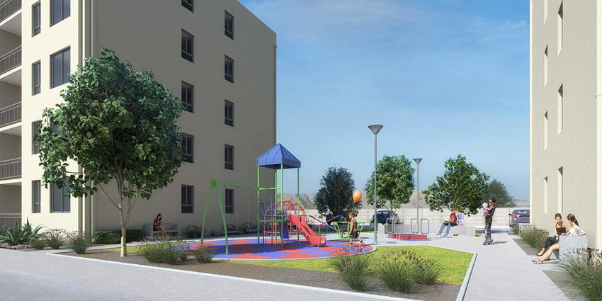 Proyecto Edificio Barrio Nuevo de Inmobiliaria PY-3