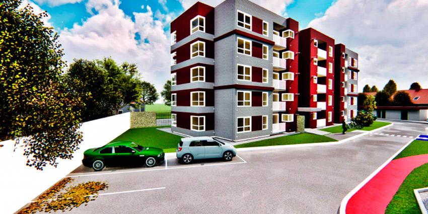 Proyecto CONDOMINIO ALTO PALERMO - Edificio la Foresta de Inmobiliaria Puerto Madero-2