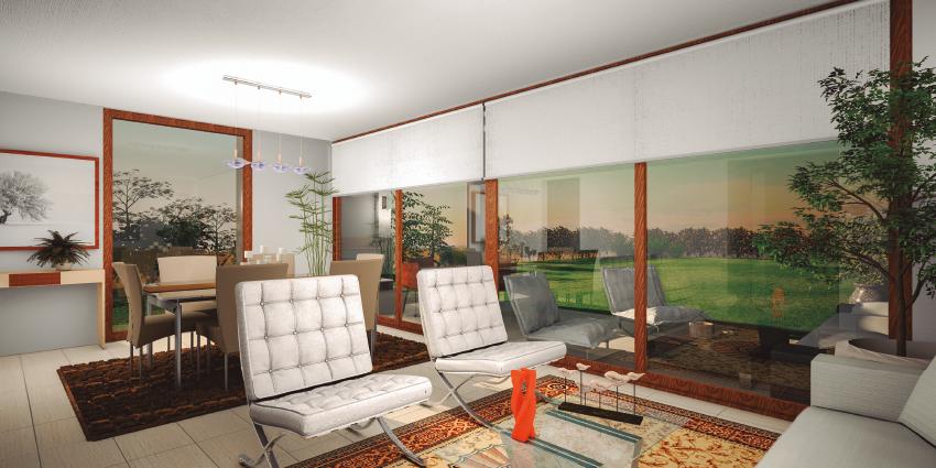 Proyecto Condominio Laguna Norte Serena Golf de Inmobiliaria La Serena Golf-12