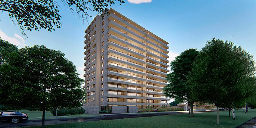 Proyecto Edificio Martin Lutero de Inmobiliaria Nualart-2