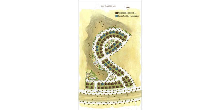 Proyecto Los Clarines VIII de Inmobiliaria PY-3