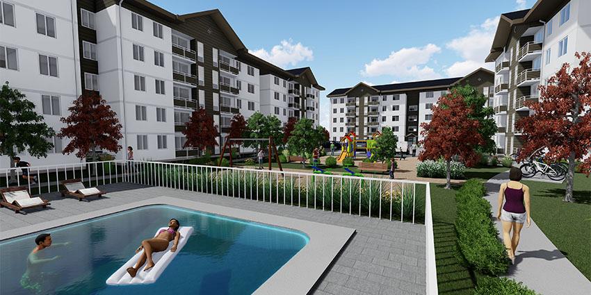 Proyecto Condominio Los Fundadores de Inmobiliaria NuevaVida-2