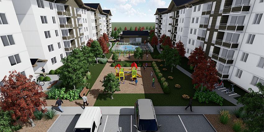 Proyecto Condominio Los Fundadores de Inmobiliaria NuevaVida-12