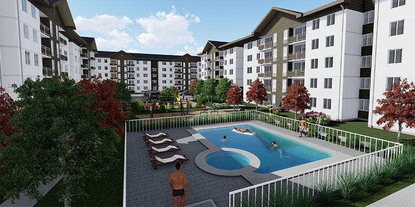Proyecto Condominio Los Fundadores de Inmobiliaria NuevaVida-14