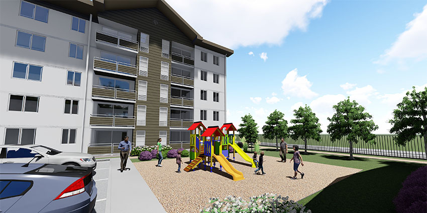 Proyecto Condominio Los Fundadores de Inmobiliaria NuevaVida-13