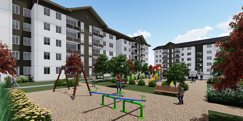 Proyecto Condominio Los Fundadores de Inmobiliaria NuevaVida-15