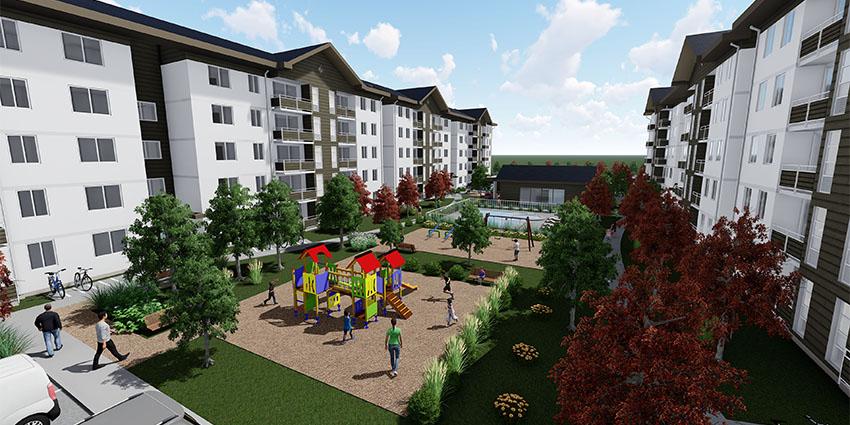 Proyecto Condominio Los Fundadores de Inmobiliaria NuevaVida-16