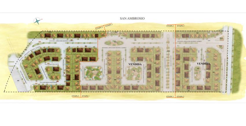 Proyecto San Ambrosio III de Inmobiliaria PY-9