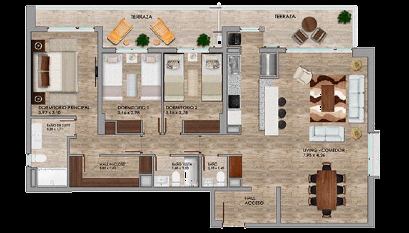 condominio-cataluña---departamentos-tipo-c2