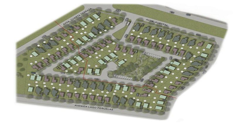Proyecto Condominio Aires del Sur de Inmobiliaria PY-5