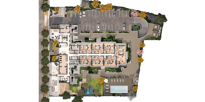 Proyecto Condominio Alcázar de Inmobiliaria Pocuro-12